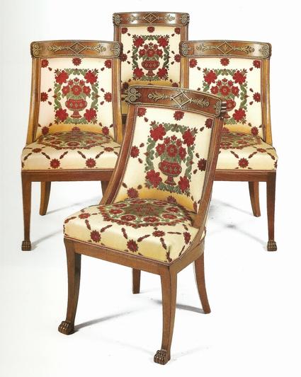 quattro sedie impero-artedelrestauro.it