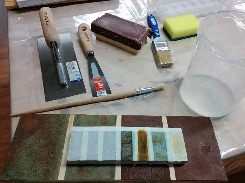 materiali usati nel corso di patine moderne-artedelrestauro.it