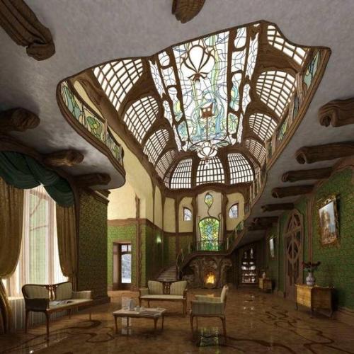 arredo e ambiente Art Nouveau-artedelrestauro.it