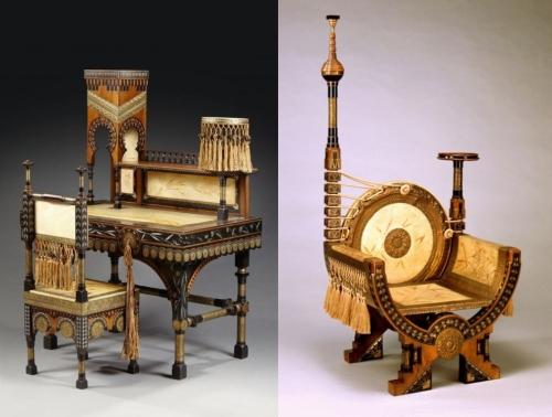 mobili disegnati da carlo bugatti nel periodo dello stile liberty o floreale-artedelrestauro.it