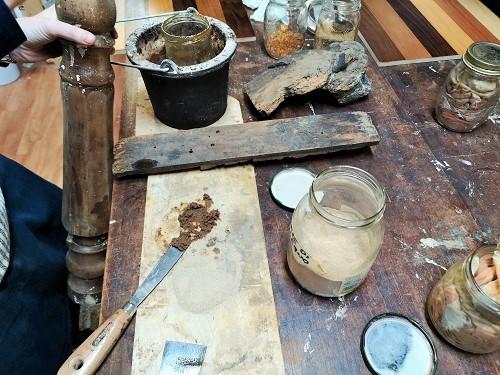 corso di restauro base: stucco di legno e colla animale