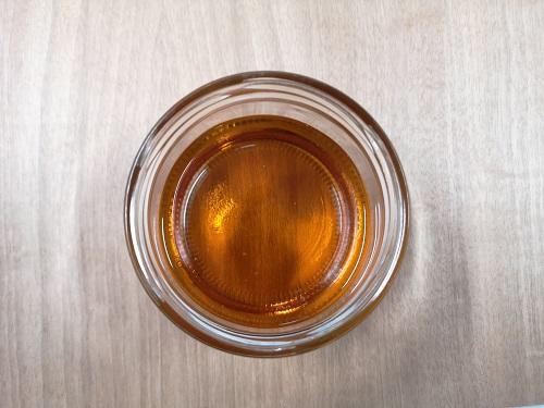 il colore dell'olio di lino cotto