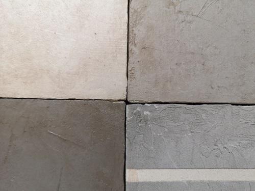 corso di patine e ossidazioni, il cemento