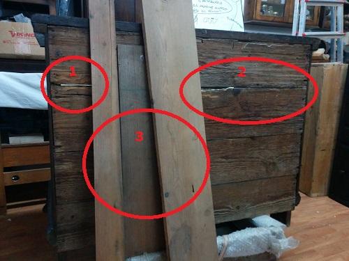 La scelta del legno per la sverza.