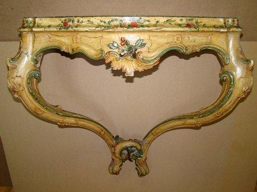 Console. Come restaurare un tavolo da muro o consolle. Mestierincorso.it