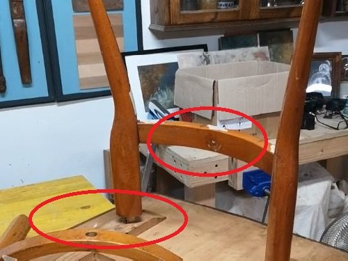 Il restauro di un tavolo VIntage.