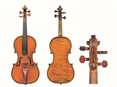 Un violino di Stradivari.